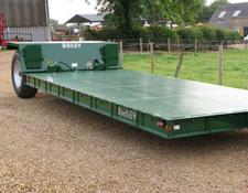 Bailey 8 tonne Hyd. Drop Flat Bed Low Loader Trailer, New - in stock