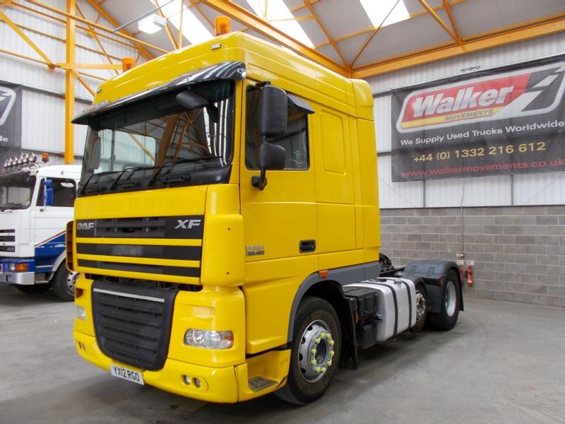 Daf XF105 460 EURO 5 SPACE CAB 6 X 2 FTP TRACTOR UNIT - 2012 - YX12 RGO