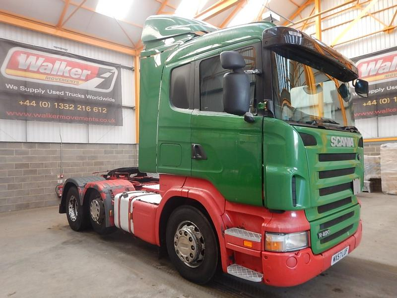 Scania R420 HIGHLINE 6 X 2 TRACTOR UNIT - 2007 - MX57 LUF